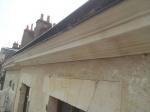 corniche extérieure dessous de toit