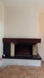 rénovation esthétique d'une cheminée (après)