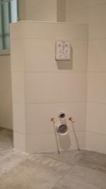 rénovation appartement partie salle de bains