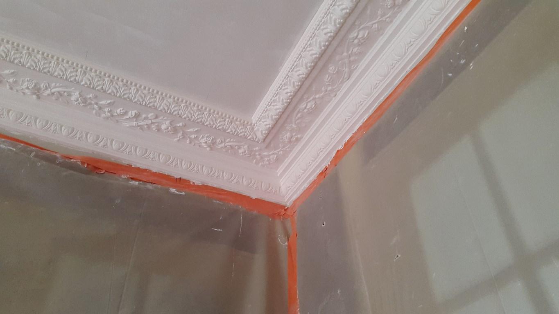 Pl trerie traditionnelle staff et stuc les ateliers du for Rosace plafond platre