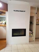 Appareil chauffage bois marque RAIS modèle VISIO 1