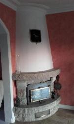 Installation d'un poêle à bois à la place d'une cheminée